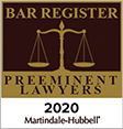 Martindale Hubbell bar register preeminent lawyers